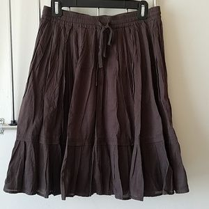 Old Navy Pleated Swing Skirt